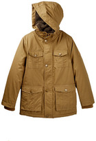 Urban Republic Cotton Twill Faux Fur Hooded Jacket (Big Boys)