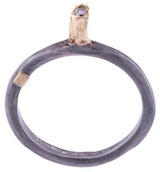Rosa Maria Hata Icy Grey Diamond ring