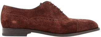 Manolo Blahnik Brown Suede Lace ups