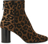 Sandro Sacha haircalf ankle boots