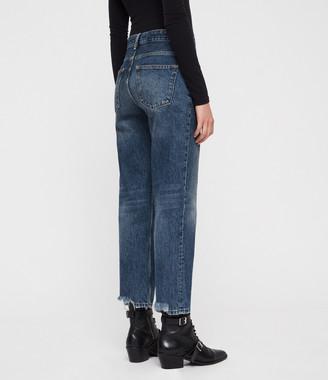 AllSaints Ava Straight Jeans
