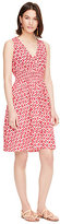 Kate Spade Posy ikat elasticated dress