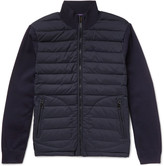 Ralph Lauren Purple Label - Quilted Shell And Wool-blend Jacket