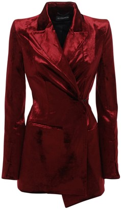 Ann Demeulemeester Cotton Blend One Breast Blazer Jacket