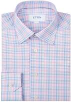 Eton Pastel Gingham Check Shirt