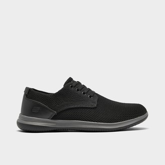 Skechers Men's Darlow - Velogo Oxford Casual Shoes