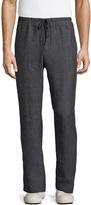James Perse Men's Delave Linen Welt Pockets Pants