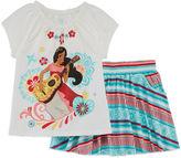 Disney Girls Short Sleeve Skort Set