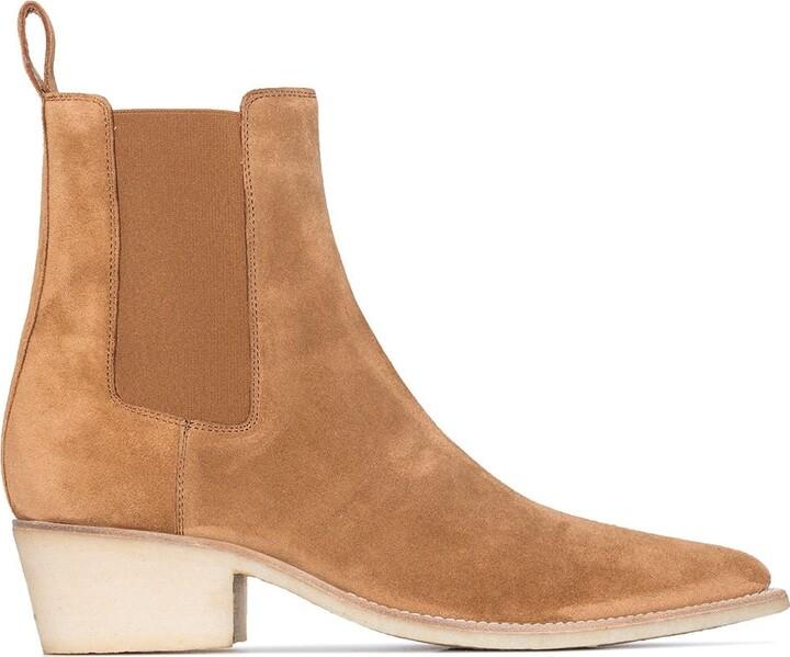 Amiri Pointed Toe Chelsea Boots