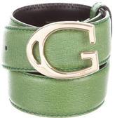 Gucci Leather G Bit Belt