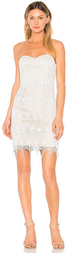Aijek Daydreamer Bustier Lace Dress