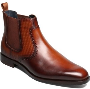 Stacy Adams Men's Rydell Plain Toe Chelsea Boot Men's Shoes