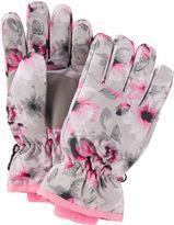 Osh Kosh Floral Ski Gloves
