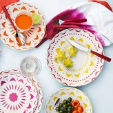 west elm Dipped Flatware 5-pc Place Setting - Red