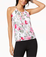 INC International Concepts I.n.c. Petite Printed Halter Top, Created for Macy's