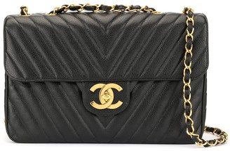Chanel Pre Owned 1991-1994 V-Stitch shoulder bag