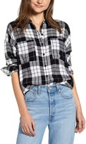 BP Plaid Boyfriend Shirt