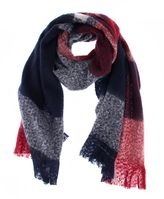 Dents Womens Bold Check Scarf