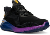 adidas Big Boys' Alpha Bounce Running Sneakers from Finish Line
