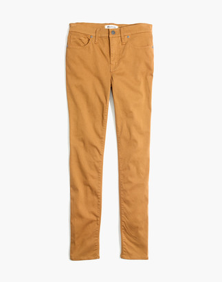 "Madewell 9"" High-Rise Skinny Sateen Jeans"