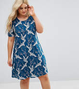 Alice & You Shift Dress In Bird Print