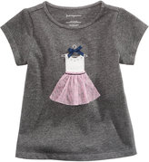 First Impressions Dress-Print Cotton T-Shirt, Baby Girls (0-24 months), Only at Macy's