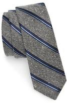 The Tie Bar Men's Stripe Nep Silk Tie