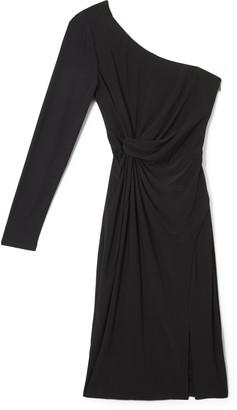Vince Camuto Knot-Waist One-Shoulder Dress