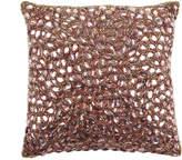 Aviva Stanoff Jewel Bed Cushion 25x25cm - Cocoa