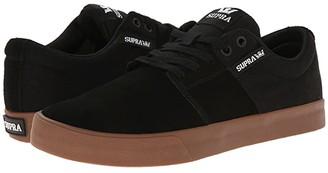 Supra Stacks Vulc II (Black/Gum) Men's Skate Shoes
