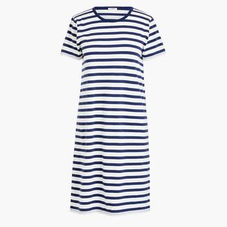 J.Crew Striped T-shirt dress