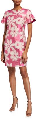 Trina Turk Jacinta Floral Jacquard Dress