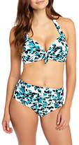 Phase Eight Leaf Print Bikini Top, Multi