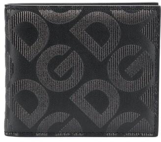 Dolce & Gabbana embossed bi-fold wallet