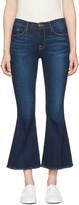 Frame Indigo Le Crop Bell Jeans
