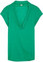 Eres Zephyr Renee Cotton-jersey Kaftan - Green