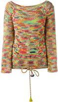 Chloé space dyed knit jumper - women - Cotton/Polyamide - L