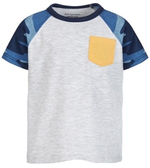 First Impressions Toddler Boys Camo-Print T-Shirt, Created for Macy's