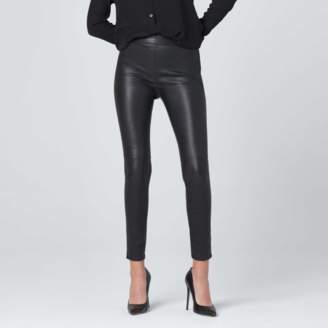 DSTLD Leather Leggings in Black