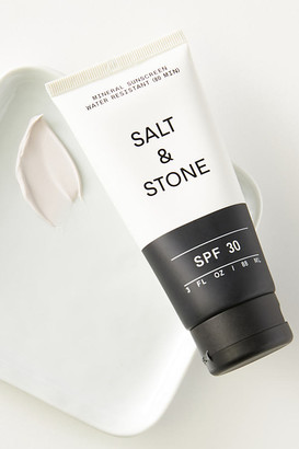 Salt & Stone SPF 30 Mineral Sunscreen Lotion By SALT & STONE in White