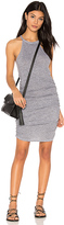 Lanston Ruched Halter Dress in Gray. - size XS (also in )