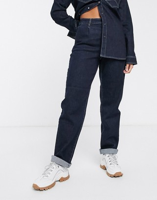 Gestuz Elenor straight cut chino style jeans co-ord