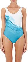 Onia Women's Kelly One-Piece Swimsuit-BLUE