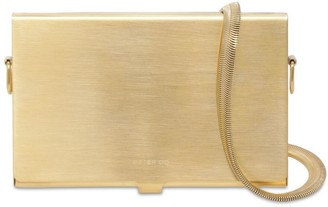 Peter Do Card Case W/ Snake Chain Strap