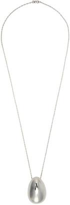 Sophie Buhai Silver Egg Necklace