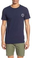 rhythm Men's 'Letters' Graphic Crewneck T-Shirt