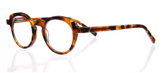 Eyebobs Cabaret Round Readers, Brown Pattern