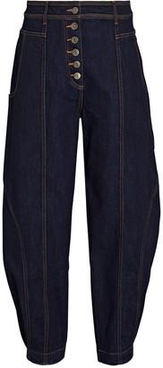 Ulla Johnson Keaton Tapered High-Rise Jeans