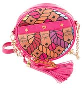 MCM Rope Print Tambourine Shoulder Bag