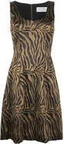Prabal Gurung tiger-print sleeveless dress